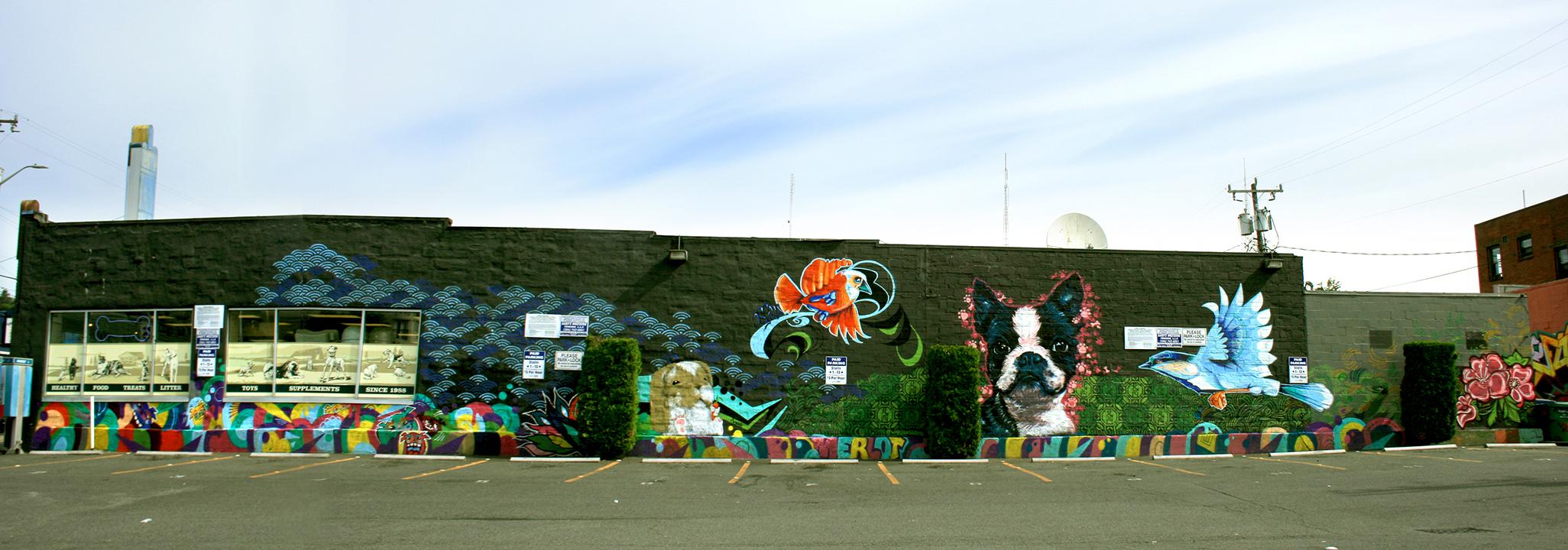 Mud Bay Uptown Mural