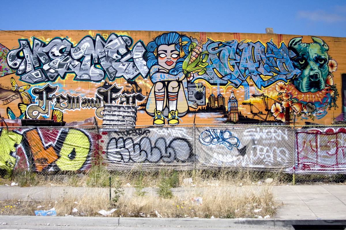 Few and Far Ode to Oakland Mural