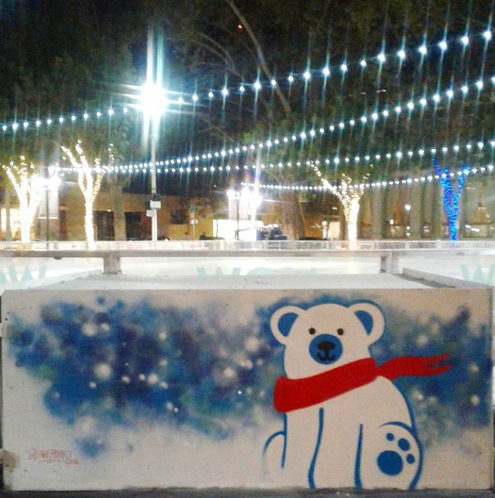 Downtown Sac Ice Rink 2017