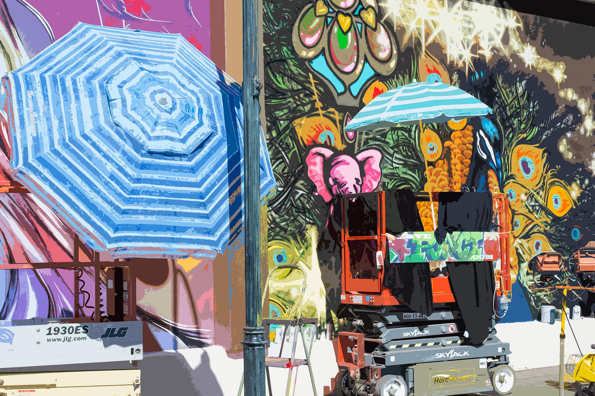 Circus Circus Reno 24 Hour Mural Marathon