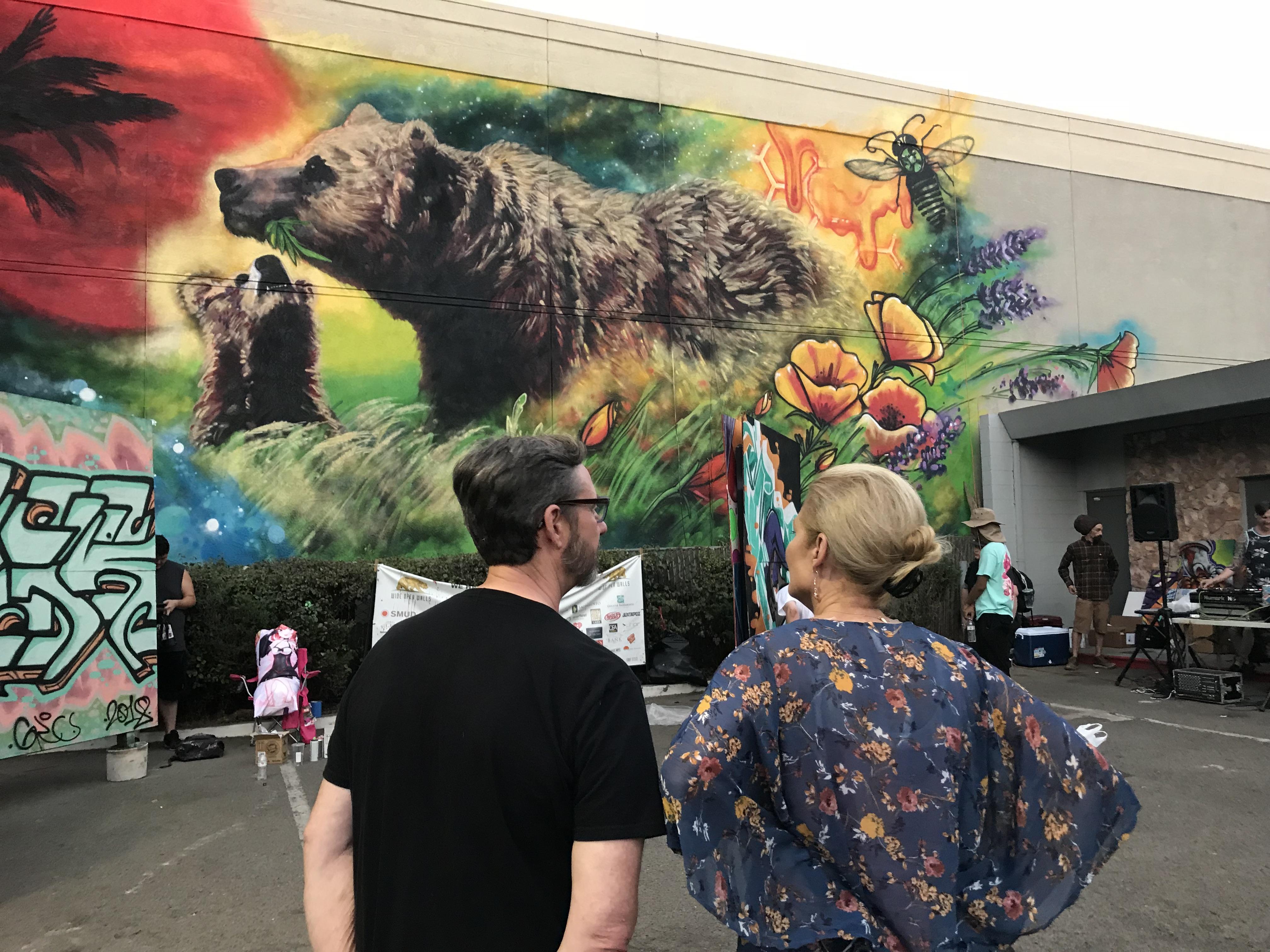 Sacramento Mural History